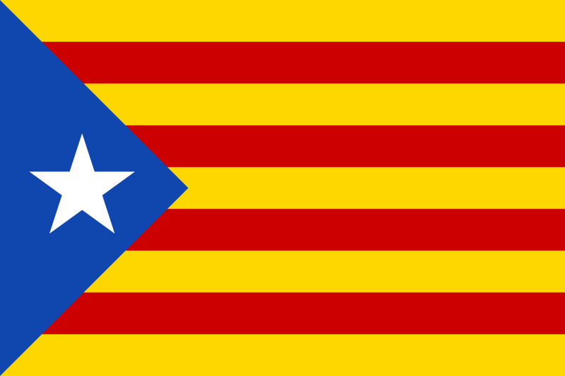 The Estelada was first created in the 1920s and remains one of the most iconic symbols of Catalan independence to this day