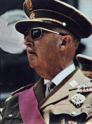 General Franco in 1969