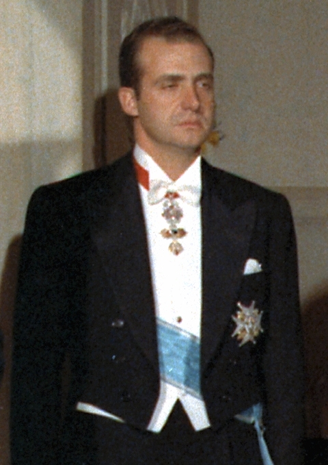 King Juan Carlos I who succeded Franco